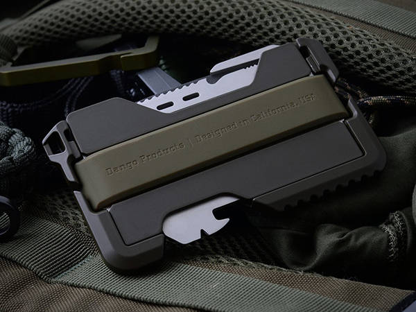 Dango EDC Tactical Wallet with RFID Blocking and Multitool