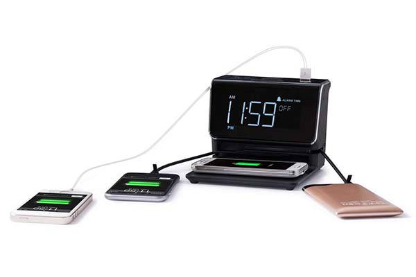 Kube Essentials Power Hub Wireless Charging Station with AC Outlet, USB Ports and More