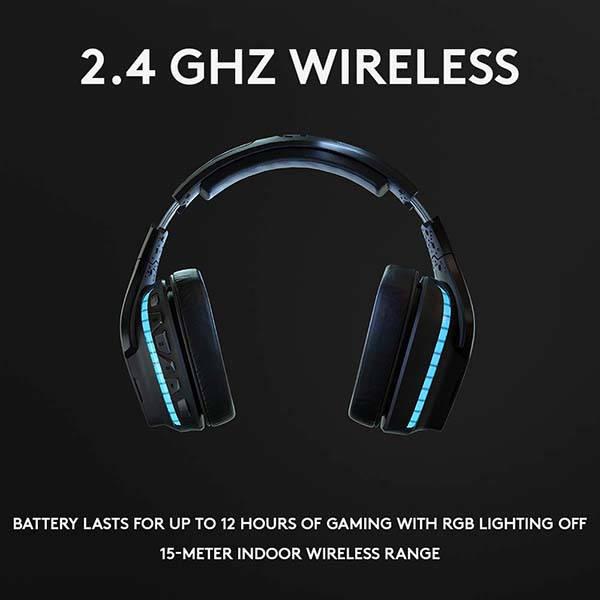 Logitech G935 7.1 Surround Wireless Gaming Headset