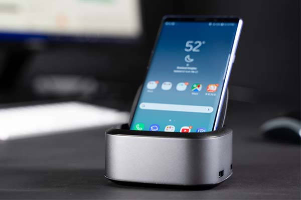 NuDock Smartphone Docking Station with USB 3.0 Ports, Card Reader and More