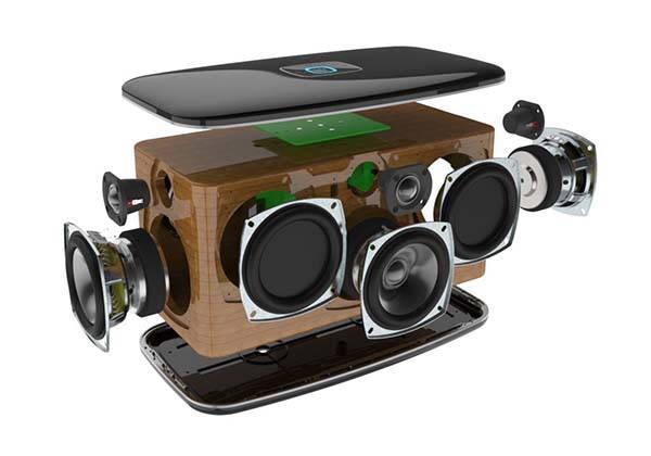 RIVA Festival Smart Home Speaker Works with Google Assistant
