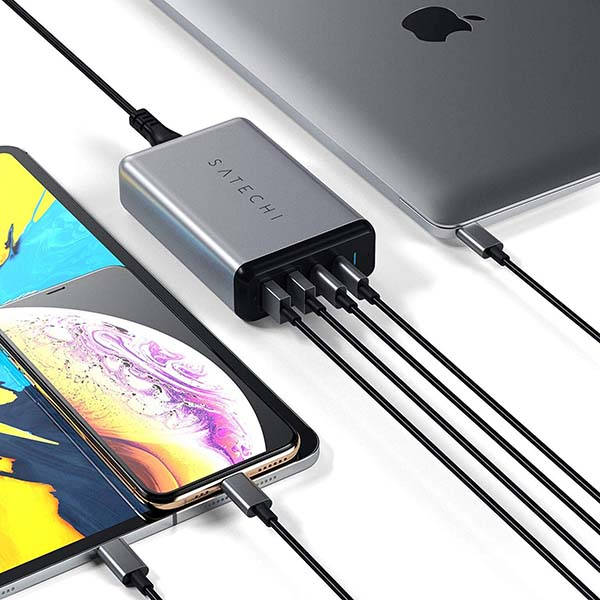Satechi 75W Dual USB-C PD Travel Charger