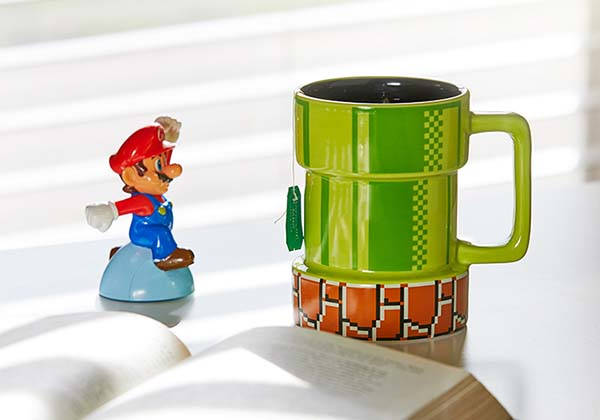 Super Mario Warp Pipe Ceramic Mug