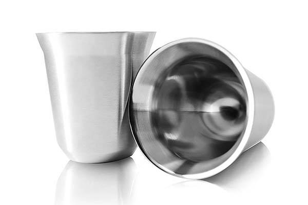 The Dual-Walled Vacuum Insulated Stainless Steel Espresso Cup