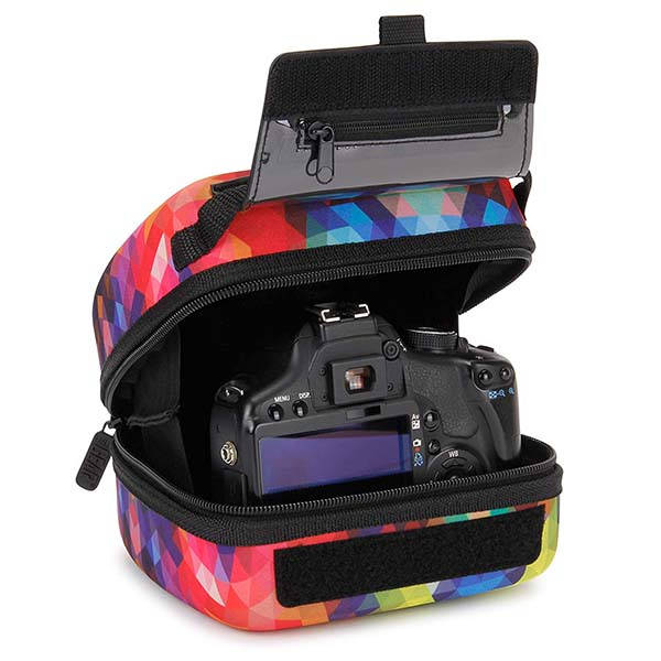 USA Gear Quick Access DSLR Camera Case