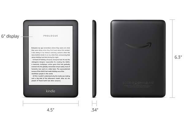 Amazon All-New Kindle with a Built-in Front Light
