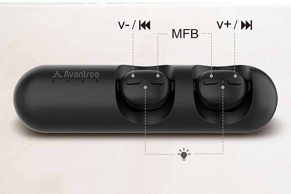 Avantree TWS110 True Wireless Earbuds with Bluetooth 5.0