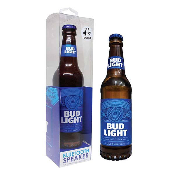 Budweiser and Bud Light Bottle Portable Bluetooth Speakers