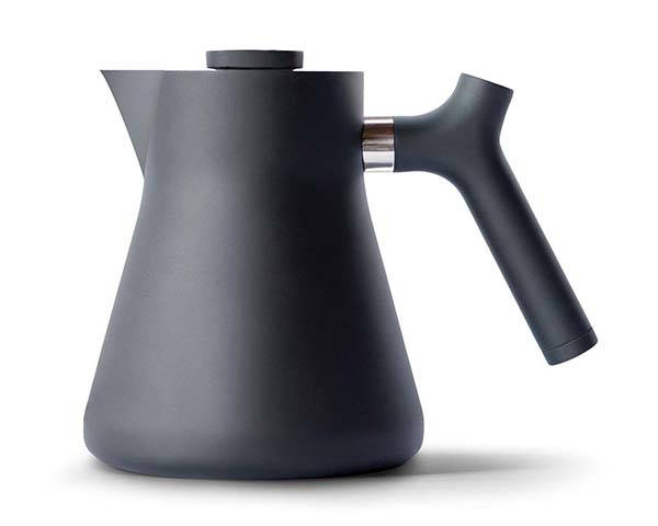 Fellow Raven Stovetop Tea Kettle with a Large Tea Infuser