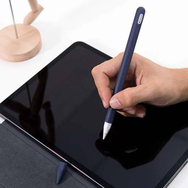 Frtma Silicone Apple Pencil 2 Sleeve Grip with Nib Cover