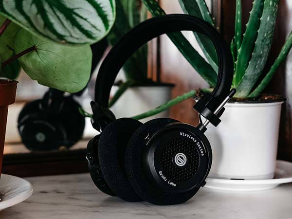 Grado GW100 Wireless Bluetooth Open-Back Headphones
