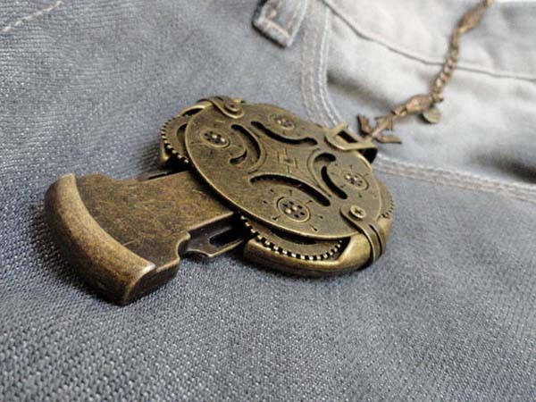 Handmade Steampunk Crypetex USB Flash Drive