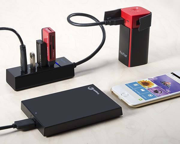 HooToo Portable WiFi Router with Power Bank