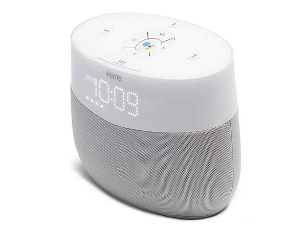 iHome iGV1 Google Assistant Smart Speaker with Chromecast Built-in