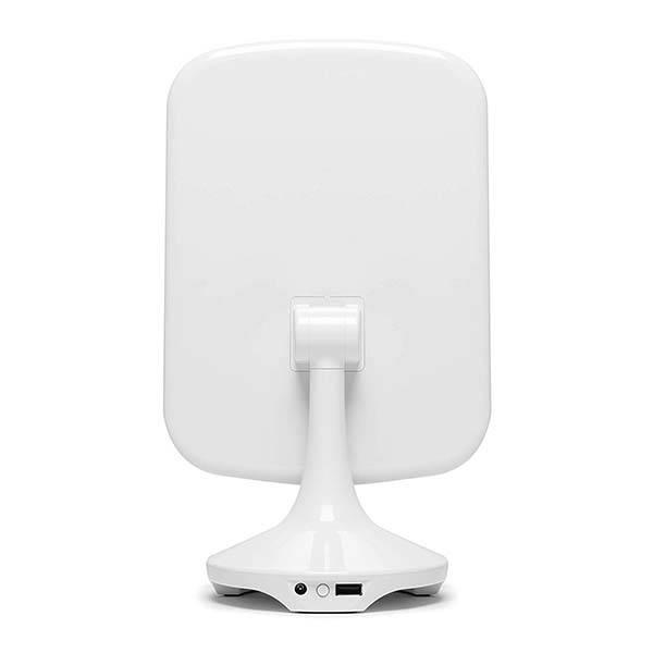 iHome Reflect II Adjustable LED Vanity Mirror with Bluetooth Audio