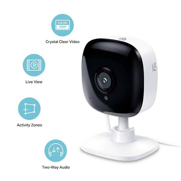 Kasa Spot Smart Indoor Security Camera Supports Alexa and Google Assistant