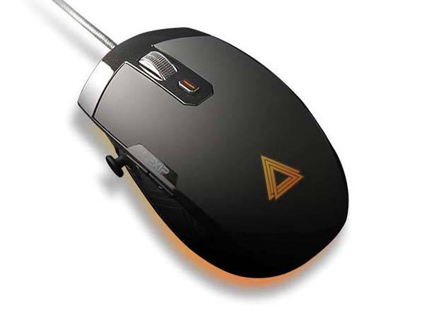 Lexip Pu94 Gaming Mouse with Integrated Joysticks