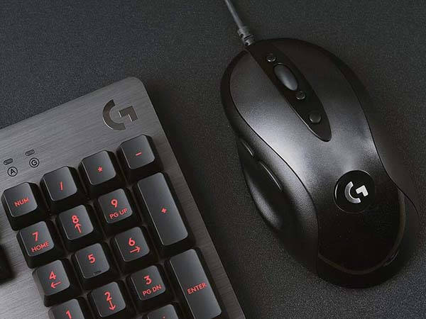 Logitech G MX518 Gaming Mouse with HERO Sensor