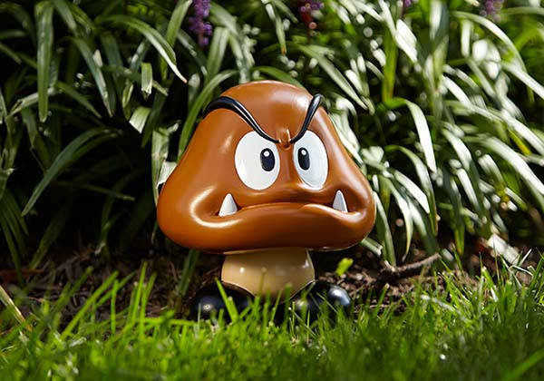 Nintendo Super Mario Goomba Garden Statue
