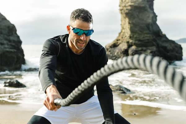 OptiShokz Revvez Bone Conduction Audio Sunglasses
