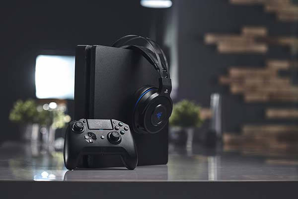 Razer Raiju Tournament Edition Bluetooth Game Controller for PS4 and PC