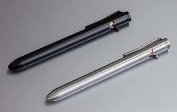 Refyne EP1 Essential EDC Titanium Bolt-Action Pen