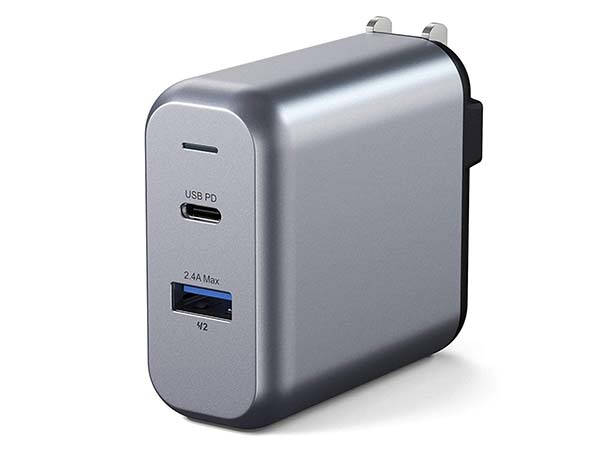 Satechi 30W Dual Port USB Wall Charger with USB-C PD