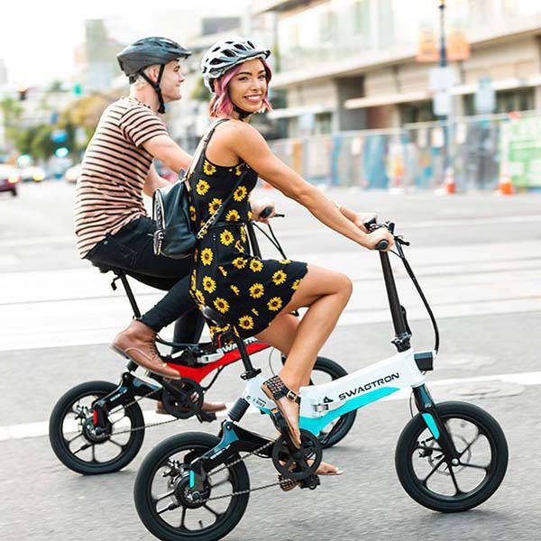 Swagtron EB7 Foldable Electric Bike