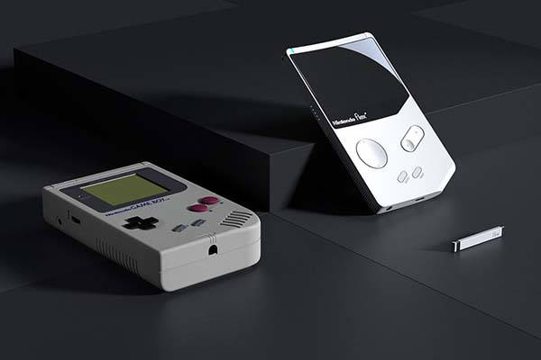 The Concept Nintendo Flex Handheld Game Console Inspired