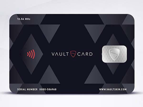 VaultCard RFID Blocking Card Protects Your Cards