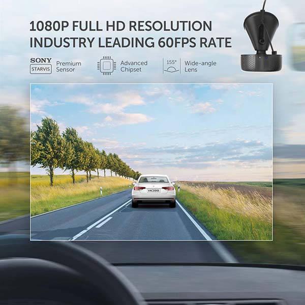 VAVA 1080p WiFi Car Dash Cam