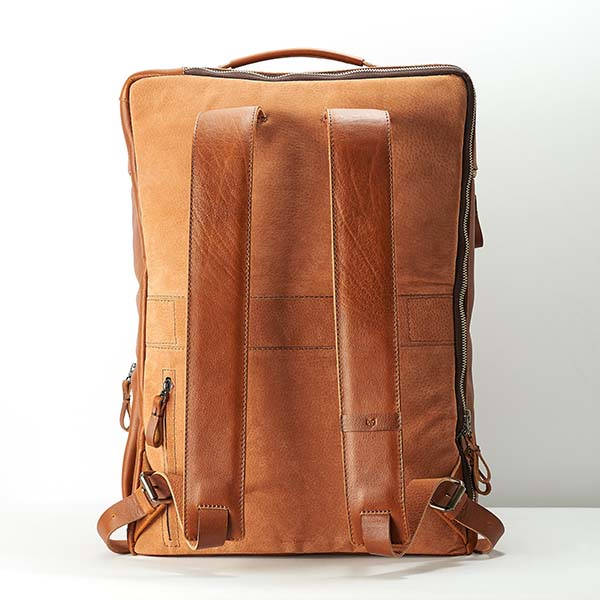 Banteng Handmade Personalized Leather Laptop Backpack
