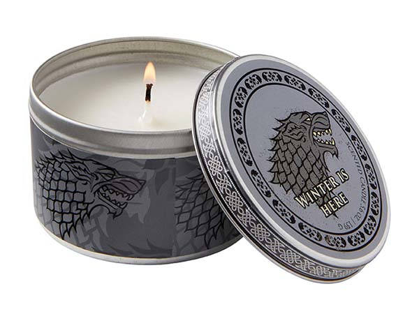 Game of Thrones Scented Tin Candles