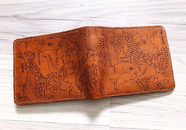 Handmade Customizable Game of Thrones Leather Wallet
