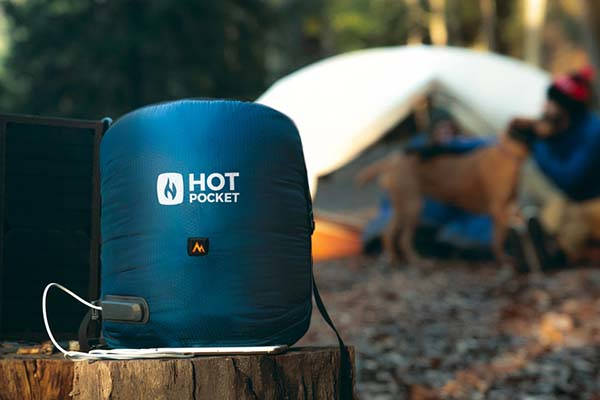 Hot Pocket Heated Adventure Pack Keeps You Warm in the Wild