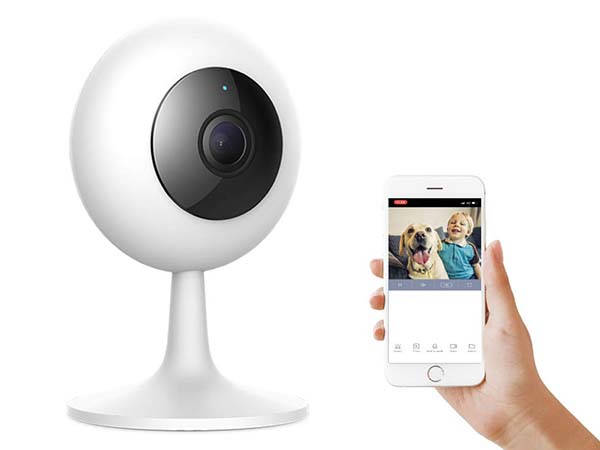 IMI Smart Home Security Camera with 2-Way Audio and Night Vision