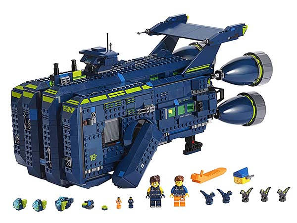 LEGO Movie 2 Rexcelsior Building Kit