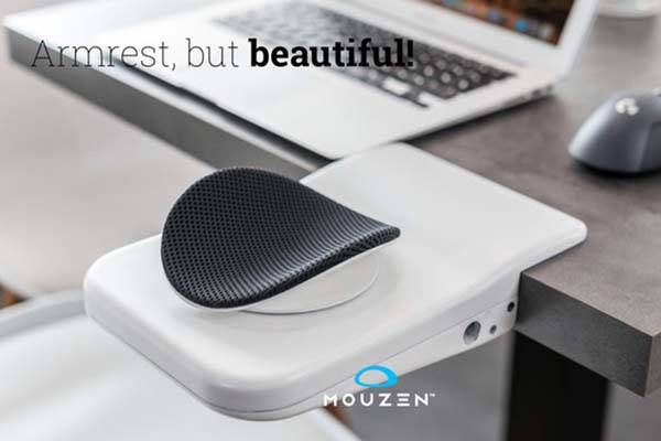 Mouzen Ergonomic Armrest Lets You Comfortably Work with Your Mouse