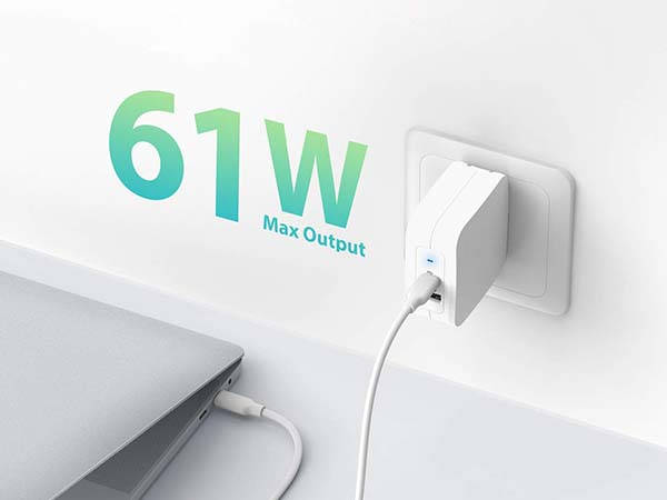 RAVPower 61W USB-C PD Wall Charger