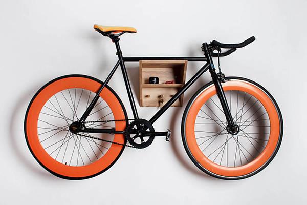 RIO Handmade Wall Mounted Bike Rack