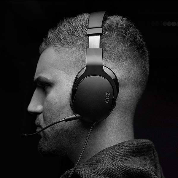 Roccat Noz Wired Stereo Gaming Headset with Detachable Mic