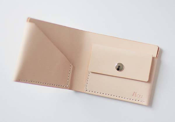 The Handmade Leather Wallet with a Coin Compartment