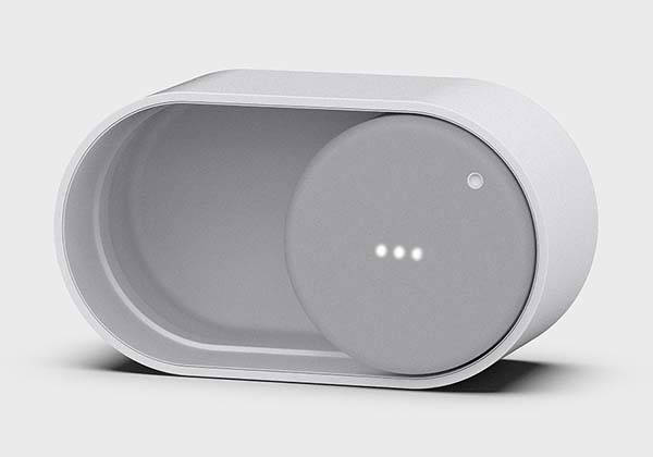 The Portable Bluetooth Speaker Inspired by the On/Off Button on Smartphone