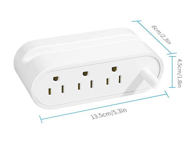 The USB-C Power Strip with 30W Power Delivery and Two USB Ports