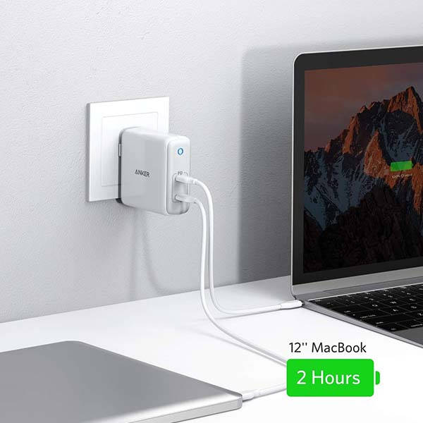 Anker PowerPort Atom PD 2 USB-C Wall Charger with 60W Output