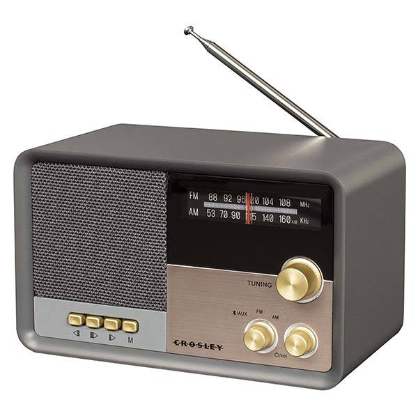 Crosley Tribute Vintage Bluetooth Radio Speaker Gadgetsin