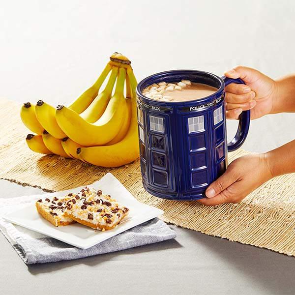 Doctor Who 64oz Tardis Coffee Mug