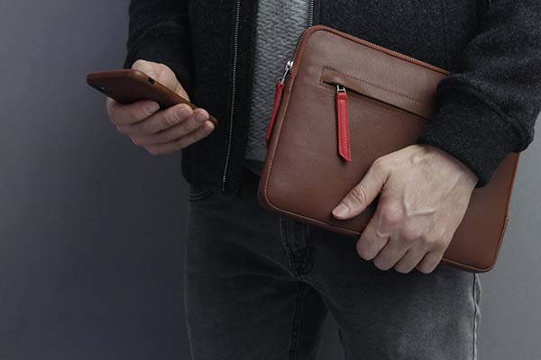 Handmade 12.9-Inch and 11-Inch iPad Pro Leather Cases