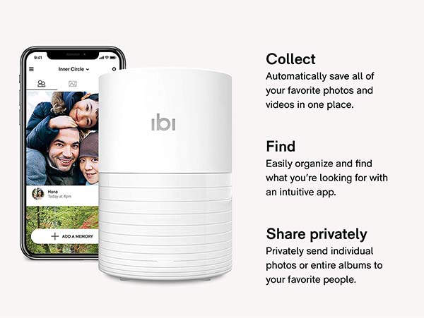 ibi Smart Photo Manager with 2TB Capacity