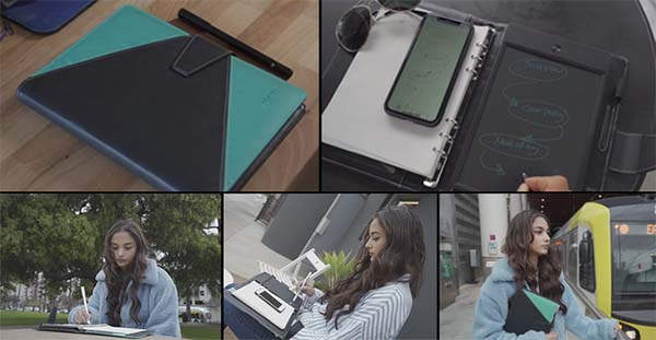 Newyes Notebook with Digitized E-Tablet and Syncpen